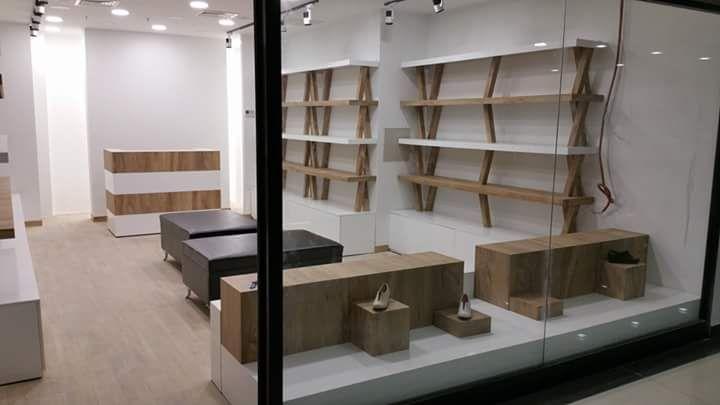 Ayakkabı Mağaza Raf Sistemleri