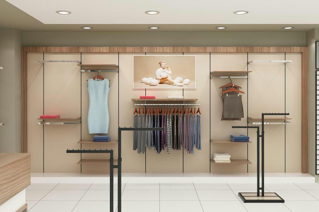 Giyim Mağaza Raf Sistemleri